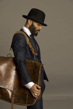 brown bag - man