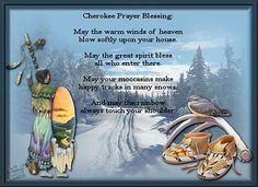 cheroke prayer, quot