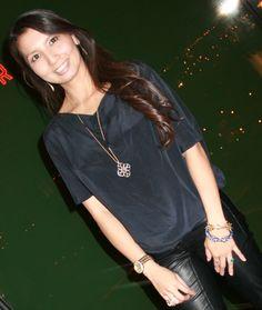 #DaisyNguyen, PS BANANAS #fashionblogger for #Minneapolis, MN & #Austin, Tx! #stellaanddot Wesley necklace