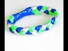 duct tape bracelet!!! so cute!!!