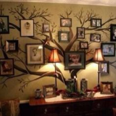 Family Tree Wall Art..Love this!