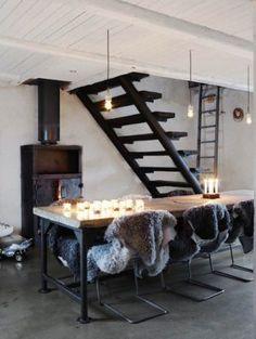 Christmas interiors decor ideas - mylusciouslife.com - modern white christmas decor1.jpg