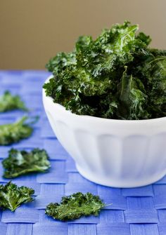 Cook quick-and-easy kale chips to satisfy the whole family.