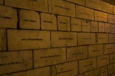 art quotes, pinkfloyd, pink floyd, art photography, street art, mobstr, bricks, wall, streetart