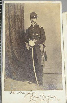 3 CDVs Same Civil War ID Officer York Pa.