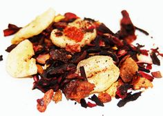 Jenna Cherry Jubilee, 1.75oz. (50g) You'll love the infusion of fresh cherry chunks in this flirty and cheerful tea. Ingredients: Hibiscus p...
