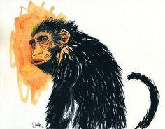 ...Monkey by ~rafadante on deviantART