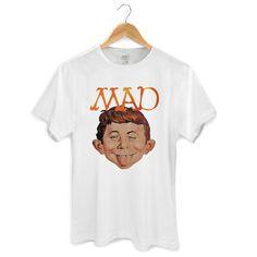 Camiseta Masculina MAD Face #MAD #DCComics