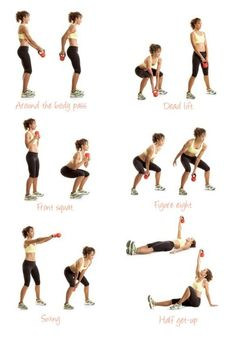 kettle bell routine