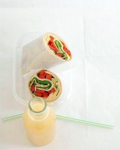 Spinach and Artichoke Wrap Recipe
