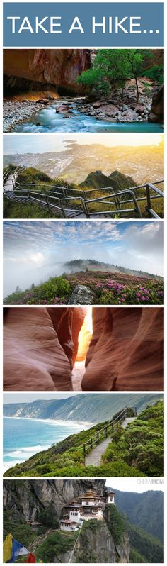 Here are some of the most amazing hiking trails around the world that you have to see!
