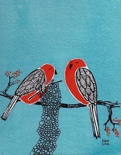 knitting birds