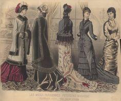 Late Victorian Era Fashion
