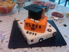 High School Graduation Party Ideas | High School Graduation Cake - for Gabriela
