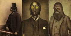 Featured Image for Lord Vader and more: Star Wars figures as distinguished Victorian figures