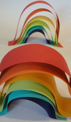 Paper Rainbows Craft for Kids