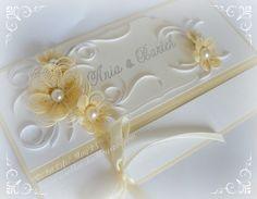 Quilled Wedding Invitation - by: Katarzyna Wroblewska www.kasia-wroblewska.blogspot.com/