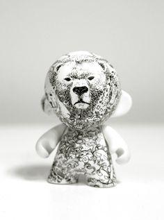 Kidrobot Bear Munny