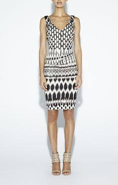 Black and White Temple Ikat Dress #ootd