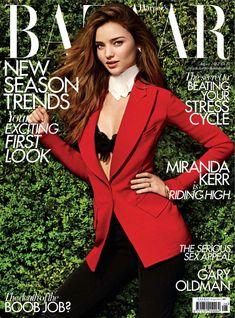 Miranda Kerr Gets Equestrian for the August Issue of Harpers Bazaar UK