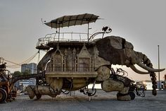 The Homes at Burning Man -http://contentinacottage.blogspot.com/2011/05/best-of-burning-man-art-on-acid-wacky.html