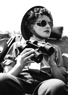 Aircraft spotter, London, 1943