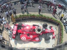 2012 Indianapolis 500 Victory Lane Time Lapse