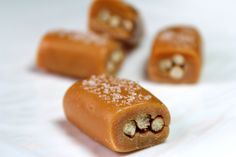 Beer and Pretzel Caramels