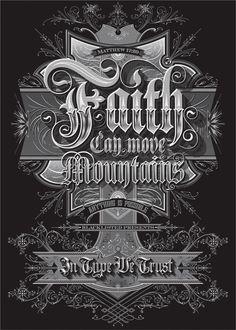 Faith can move mountains by Bobby Haiqalsyah