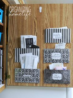 How to Organize Bills and Receipts in a Command Center
