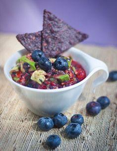 salsa blueberri salsa, avocado recipes, avocado salsa, weight loss, fruit dips, blueberries, avocado blueberri, blueberri avocado, homemade peanut butter