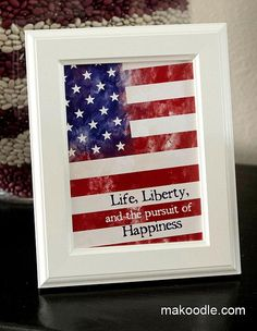 Life, Liberty, and the Pursuit of Happiness - Free Printable