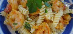 Summer Spicy Piri Piri Shrimp and Pasta