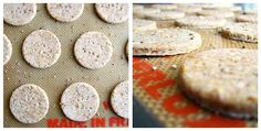 Flaxseed & Cracked Pepper Crackers