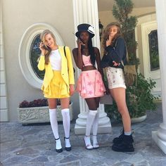 Perfect Halloween costume idea for the movie Clueless!