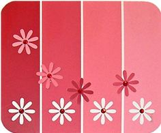punched paint chip cards