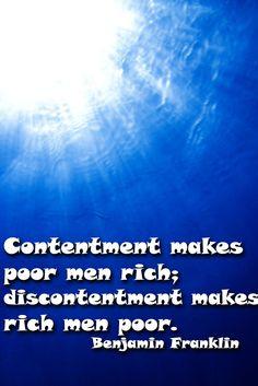 #contentment