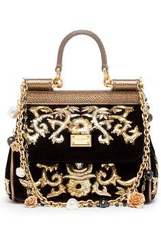 Dolce & Gabbana - #black #gold #dolce