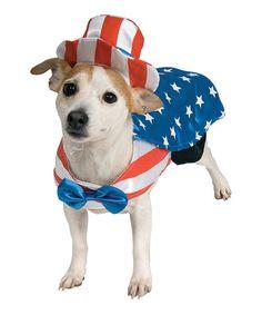 Look at this #zulilyfind! Uncle Sam Pet Costume #zulilyfinds