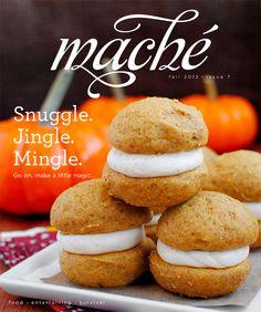 Maché magazine november/2012 #craft #DIY #fashion #food #recipes #free