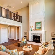 Two Story Fireplace Design Ideas, Pictures, Remodel and Decor