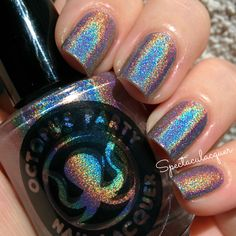 """Octopus Party Nail Lacquer """"Thermogram""""<3"""