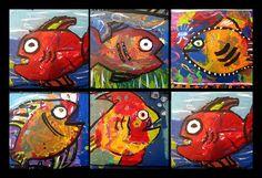 fish tale, art project, fish art, art lesson, grade art, art idea, ocean, art shows, kid