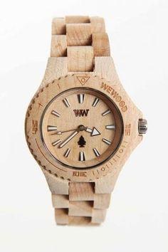 Wood watch