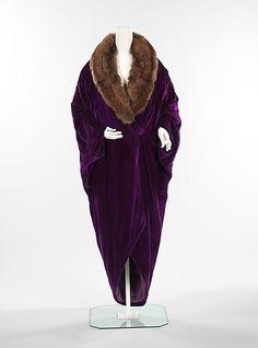 Evening Coat 1914 The Metropolitan Museum of Art