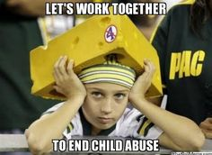 LET'S WORK TOGETHER TO END CHILD ABUSE