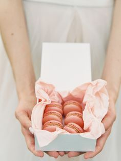 Macaron Favors | photography by http://www.sarahasstedt.com/