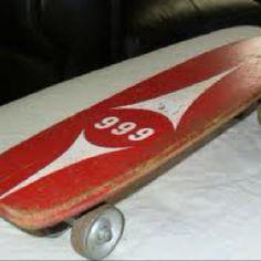 vintage skate board