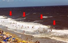 Rip currents, not sharks, are the big beach danger @capitalweather