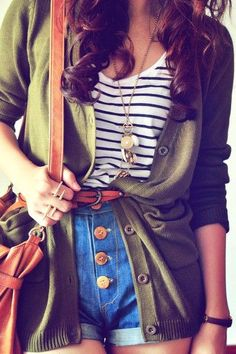 Tres Chic / going to class outfit